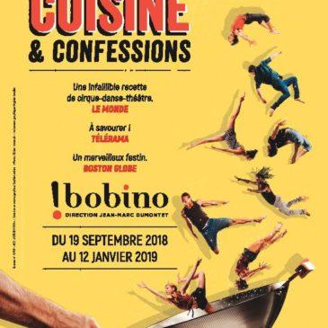 Participez à notre jeu pour gagnez des billets pour Cuisine et Confessions* !