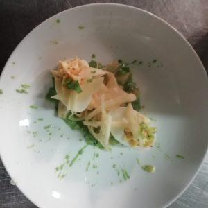 davJour 2 - Au Refettorio, plat cuisiné grâce aux produits donnés par SOLAAL