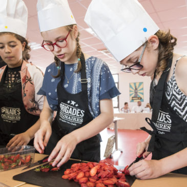 Dans les starting blocks pour les finales des Brigades Culinaires !