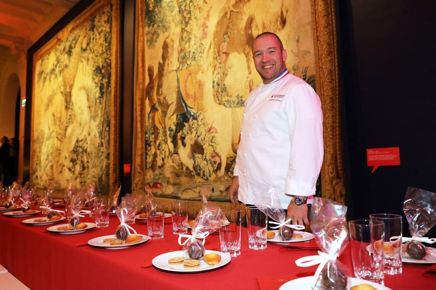 Guillaume Gomez, Chef des cuisines de l'Elysée et parrain de l'association La Tablée des Chefs.