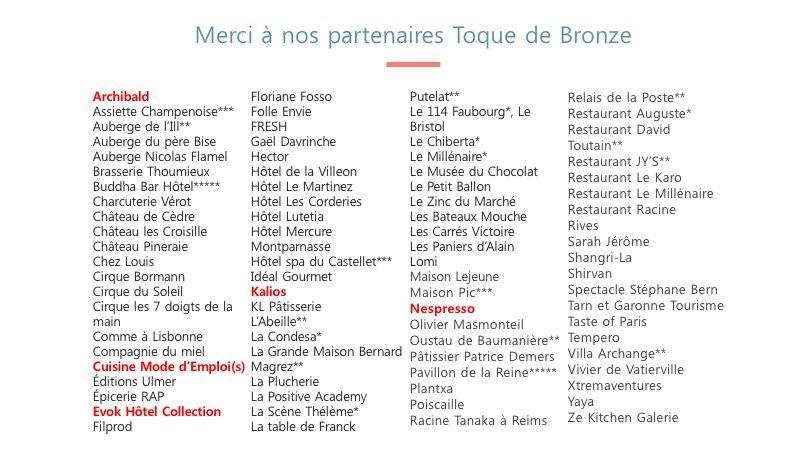 partenaires bronze 2019 GT