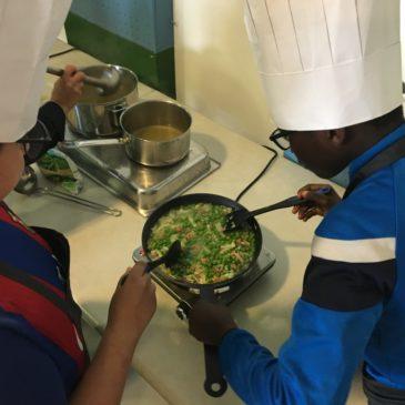 Des ateliers culinaires avec Fête le Mur